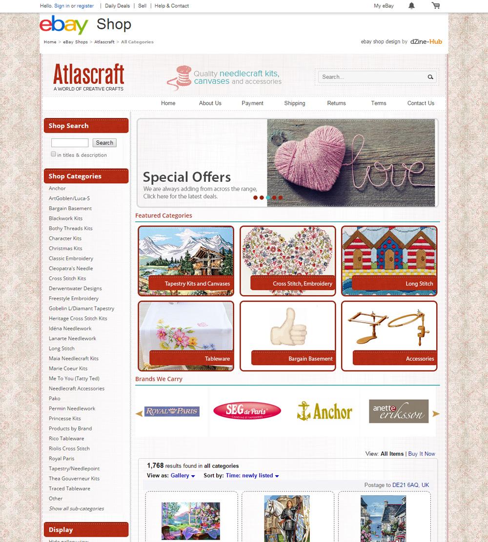 atlas craft ebay store homepage