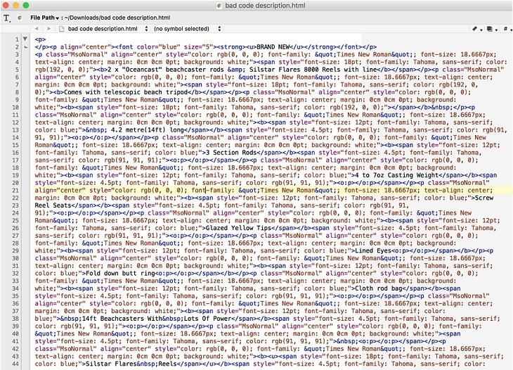 Using Clean Html Code In Your Ebay Listings Dzine Hub